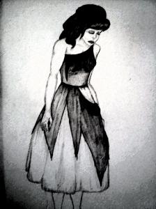 Cinderella Torn Dress