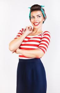 StripedShirtWoman