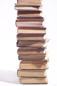 Large Stack of Books
