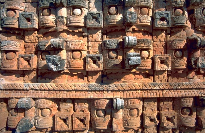 Aztec Carvings