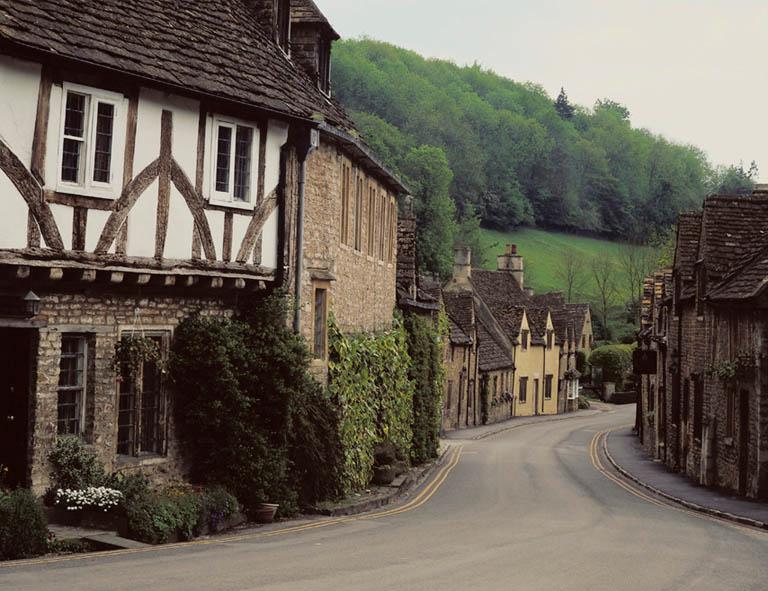 Small European Town